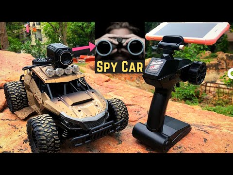 Remote control Off road Car with Camera 2020 - Tracker Spycar | Unboxing and Testing | TOYS GURU