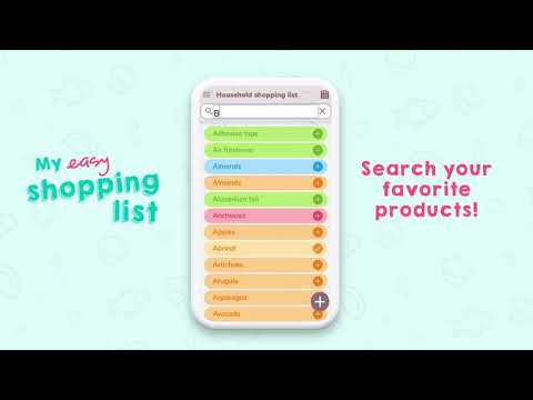 video review of My Easy Shopping List