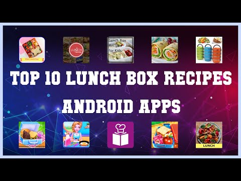 Top 10 Lunch Box Recipes Android App | Review