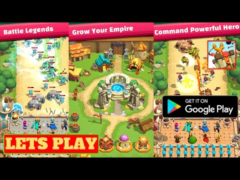 Lets Play Wild Castle TD: Grow Empire in Tower Defense, Android Gameplay, Tips and game review