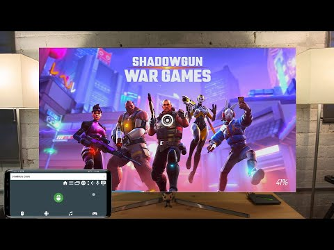 Shadowgun War Games on Shield Android TV with DroidMote