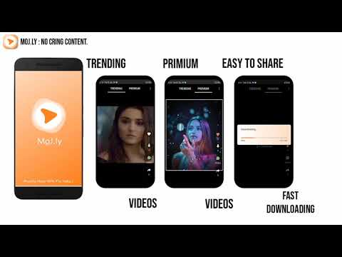 MoJ.ly - Best Short video app made in india & made for Indian.
