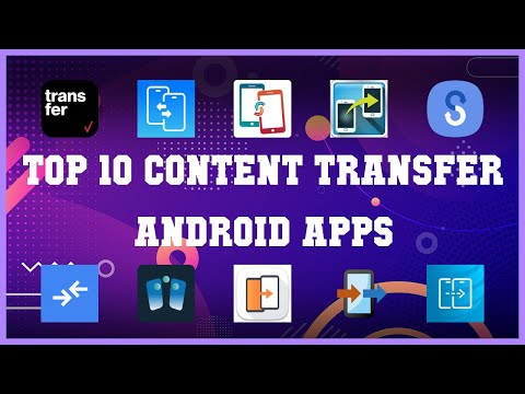 Top 10 Content Transfer Android App   Review