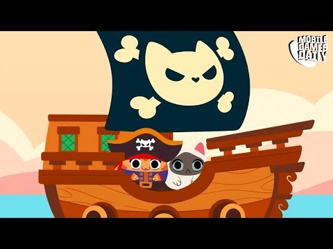 SAILOR CATS - Gameplay Part 1 (iOS Android) - Mobile Fishing Game