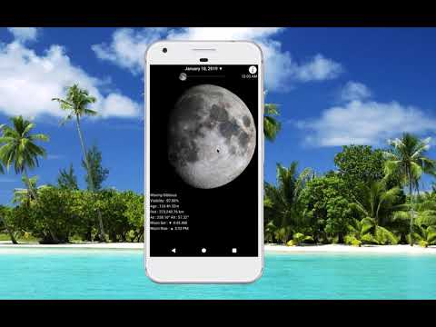 Lunar Phase Android App