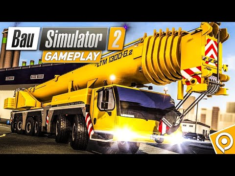 Heavy Crane Simulator Games 2019 - City Construction Mobile Vehicles - Android GamePlay