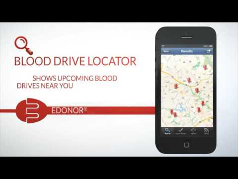 Blood Donor Mobile App - How it Works