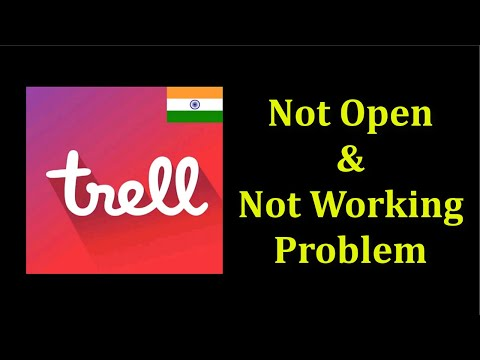 How To Fix Trell App Not Open Problem Android & Ios - Trell Not Working Problem Android & Ios