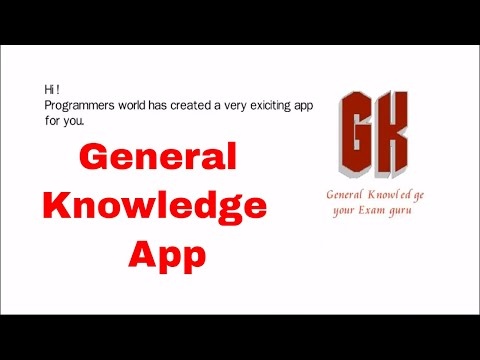 general knowledge your exam guru || android app in quiz mode || How to improve General Knowledge