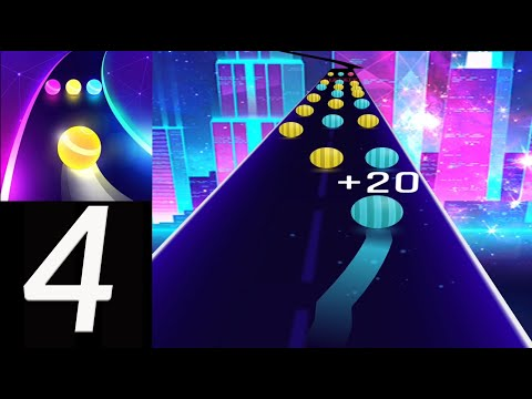 Dancing Road: Color Ball Run🔴🟠🟡🟢The Chainsmokers & Coldplay - Something Just Like This (iOS Android)