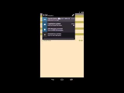 Cigarette Battery Widget for Android
