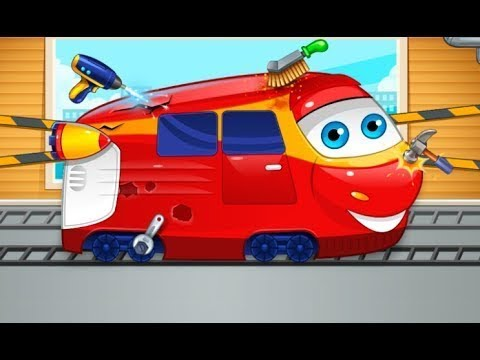 Mechanic repair trains   - Android gameplay yovogames Movie  apps  free best top