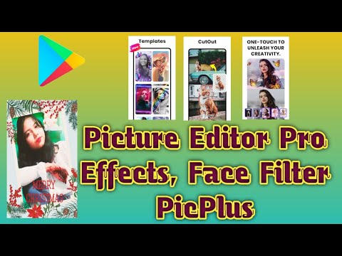 Picture Editor Pro, Effects, Face Filter #PicPlus