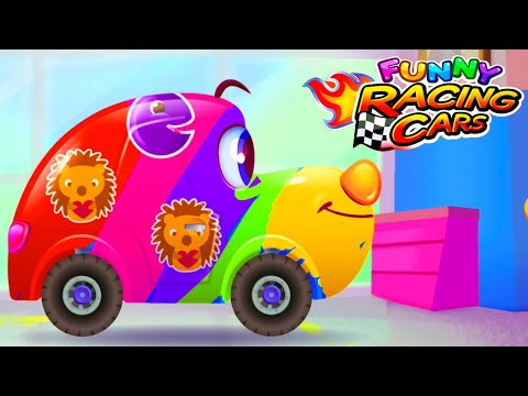 Funny Racing Cars - Exciting kids racing (Android, IOS) Ep1