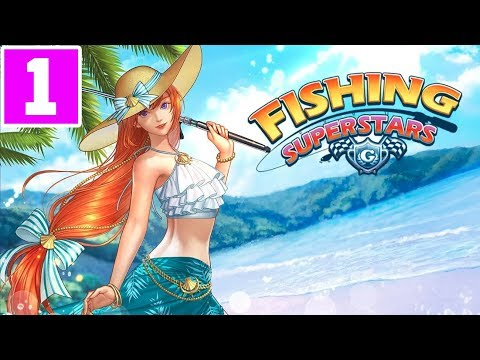 FISHING SUPERSTARS SEASON 5 2019 MOBILE GAMEPLAY AND WALKTHROUGH (ANDROID\IOS) PART 1