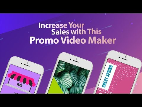 Increase your Sales With This Promo Video Maker