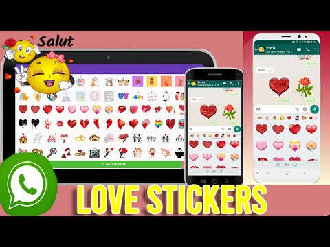 WASTICKERAPPS -Love Stickers For Whatsapp 2020 Add love to your messages