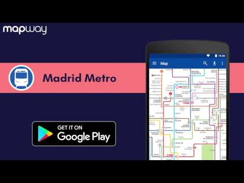 Madrid Metro on Android - Mapway