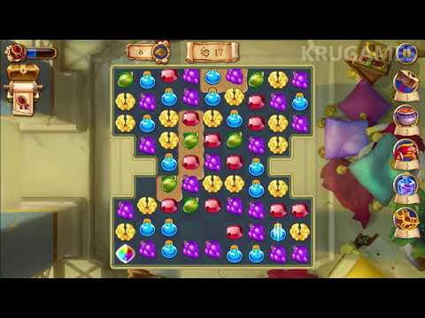 Jewels of Rome: Match gems to restore the city Android Gameplay