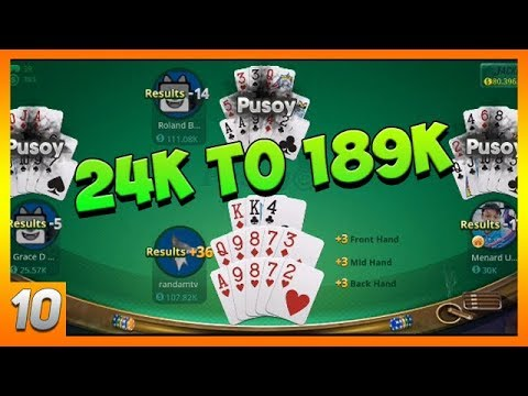 I Won 165K   Pusoy - Chinese Poker Online - Zingplay   Gameplay Ep. 10 (Android, iOS)