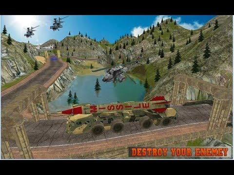 Missile Attack Army Truck 2017 / 3D Missile Launcher Simulation / Android Gameplay Video