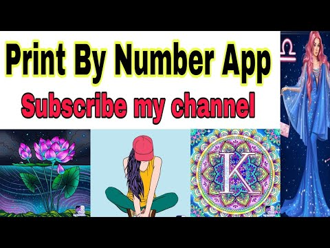 Paint by Number   free coloring Books   Puzzle Game   Fun Art for Kids and adults   best time pass