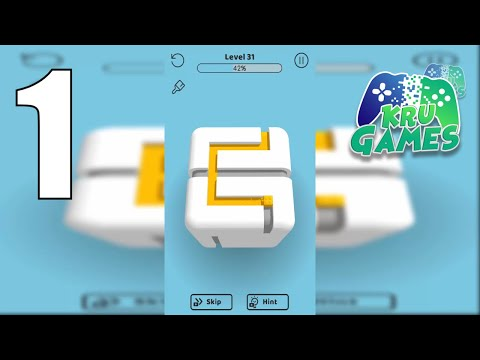 Paint the Cube Gameplay Walkthrough #1 (Android, IOS)