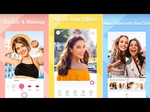 How to Use Sweet Selfie - Beauty Camera Best Photo Editor Android 2020