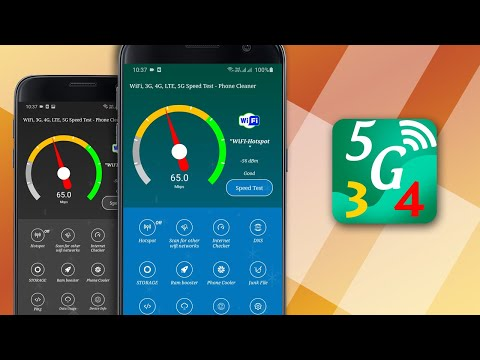 video review of Wi-Fi, 5G, 3G, LTE 4G Speed Test