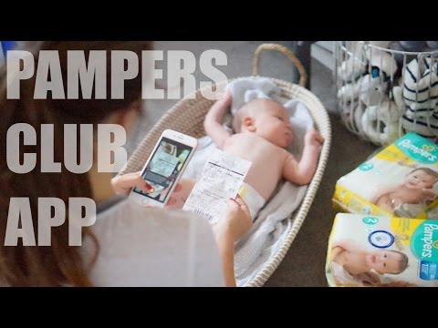 Pampers Club App Review with Channel Mum   AD