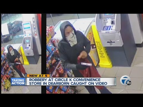 Circle K robbery caught on tape