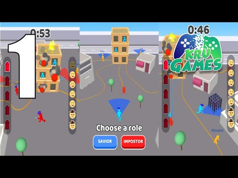 Imposter Hunt: City on Fire Gameplay Walkthrough #1 (Android, IOS)