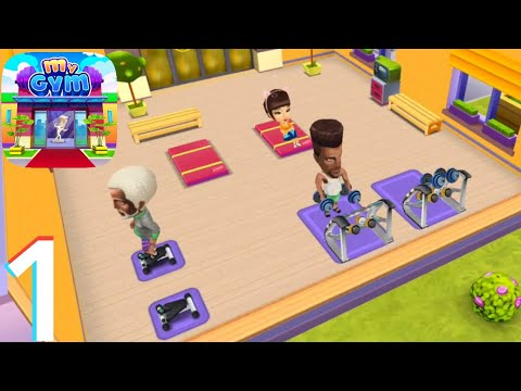 My Gym : Fitness Studio Manager | Gameplay Walkthrough Part 1 (Android, iOS)