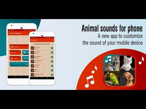 video review of animal sounds for phone, animal ringtones app