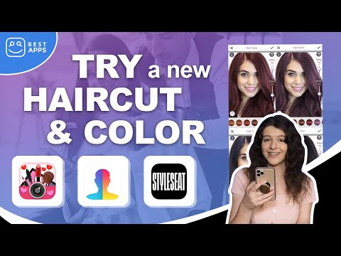 CHANGE YOUR HAIR: Try a New Haircut or Color with Apps!