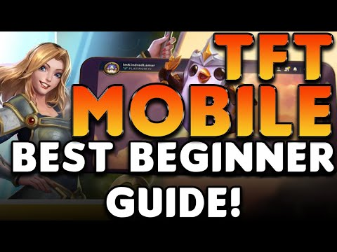 The BEST TFT MOBILE BEGINNER GUIDE!   The best BUILD for new players! | Teamfight Tactics Mobile