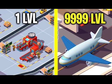 Idle Courier Tycoon! MAX LEVEL COURIER, CITY, TRANSIT AREA, MACHINE EVOLUTION! (9999  Level Courier)
