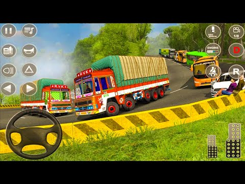 Indian Truck Spooky Stunt Cargo Truck Driver   #1   Android iOS Gameplay
