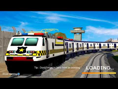 Indian Police Train Simulator - Android Gameplay HD