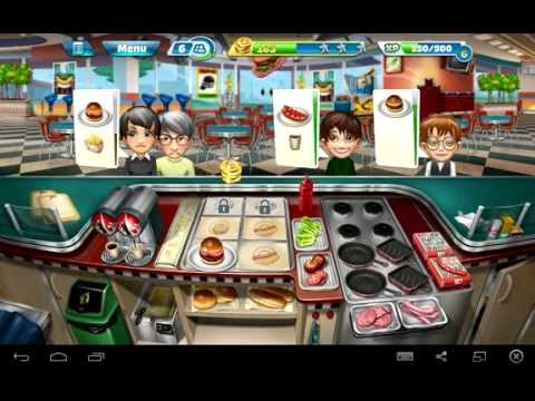 Android Cooking Fever Gameplay
