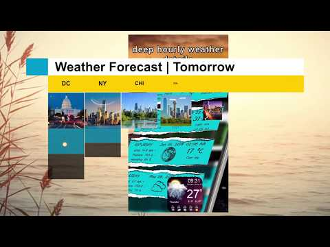 Weather App 2019 Live Weather Report & Forecast Promo