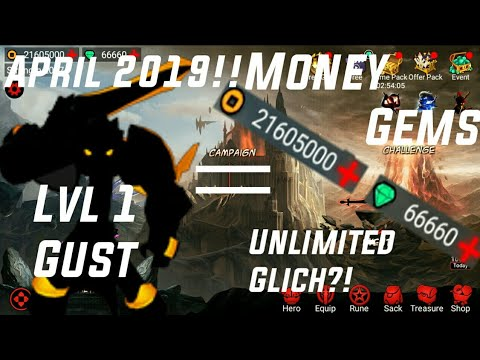 How To Get Unlimited Gems/Coin In League Of Stickman! | Lv 1 Gust Glitch (Patched)