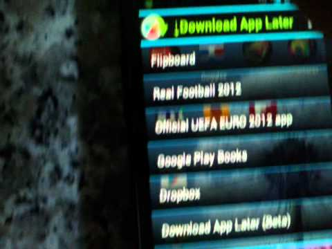 How to Download Android App Later