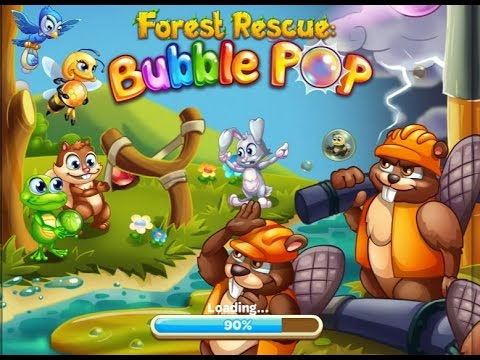 Forest Rescue: Bubble Pop gameplay first look levels 1-20