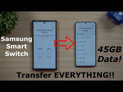 Samsung Smart Switch 2020 - Transfer ALL Your Data, FAST!