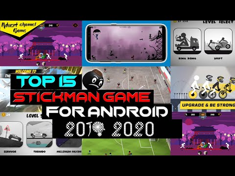 Top 15 Stickman Game for Android 2019-2020. Best Stickman Game(Advert Game)