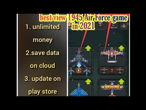 1945 Air Force mod (unlimited money) Latest version 8.10