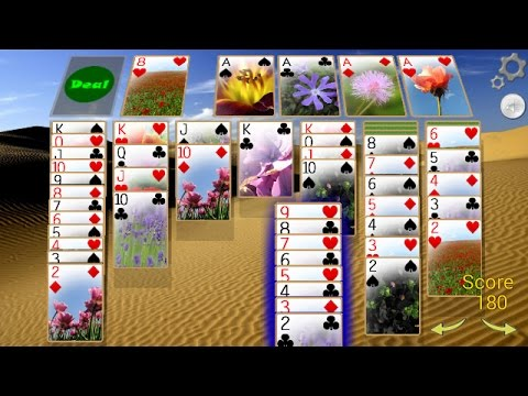 Solitaire 3D Android Gameplay