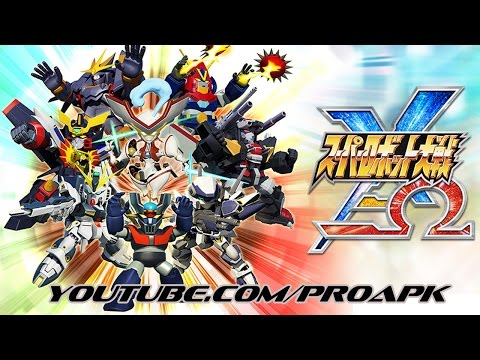 Super Robot Wars X-Ω Gameplay IOS / Android