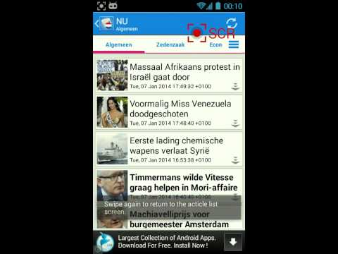 Nederland Nieuws - Free news & RSS reader for Dutch on Android